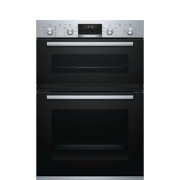 Bosch Serie 6 MBA5350S0B Electric Double Oven Stainless Steel Reviews