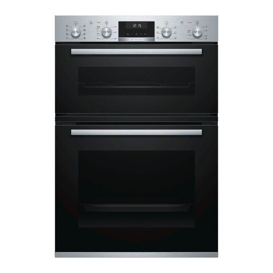 Bosch Serie 6 MBA5350S0B Electric Double Oven Stainless Steel
