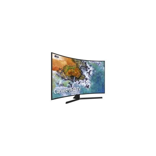 """Samsung UE55NU7500 55"""" Smart 4K Ultra HD HDR Curved LED TV"""
