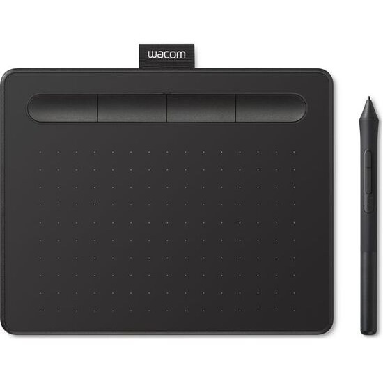 Wacom Intuos Comfort CTL-4100WL Small Creative Pen Tablet with Bluetooth-Black