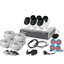 SWANN SODVK-845806 Full HD 1080p Smart Home Security System - 6 Cameras