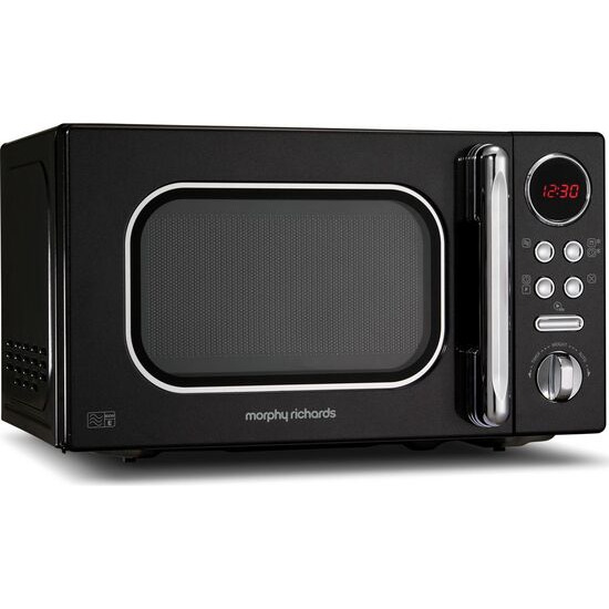 Morphy Richards Accents 511500 Compact Solo Microwave - Black