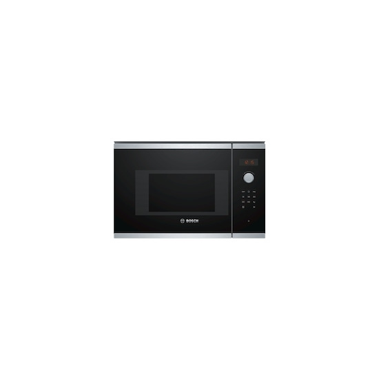 Bosch Serie 4 BFL523MS0B Built-in Solo Microwave - Stainless Steel