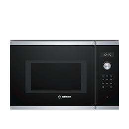 Bosch BFL554MS0B Brushed steel Built in classic 600mm microwave oven Reviews