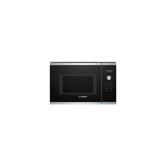 Bosch BFL554MS0B Brushed steel Built in classic 600mm microwave oven