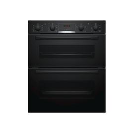 Bosch NBS533BB0B Electric Built-under Double Oven - Black Reviews