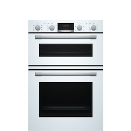 Bosch MBS533BW0B Electric Double Oven - White Reviews