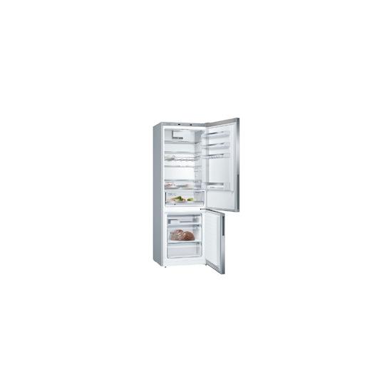 Bosch KGE49VI4AG Silver Freestanding fridge freezer