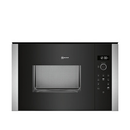 Neff HLAWD53N0B Stainless steel Built in classic 600mm microwave oven Reviews