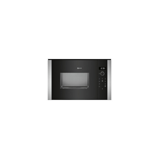 Neff HLAWD53N0B Stainless steel Built in classic 600mm microwave oven