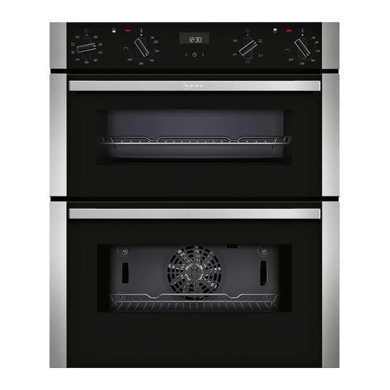 Neff J1ACE2HN0B Electric Built-under Double Oven - Stainless Steel