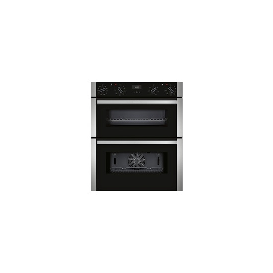 Neff J1ACE4HN0B Electric Built-under Double Oven - Stainless Steel