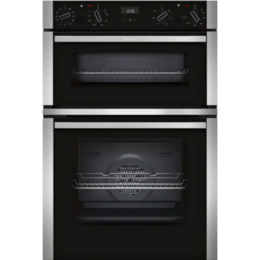 Neff U1ACE5HN0B Electric Double Oven - Stainless Steel Reviews