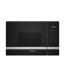 Siemens BF525LMS0B Black Built in classic 600mm microwave oven Reviews