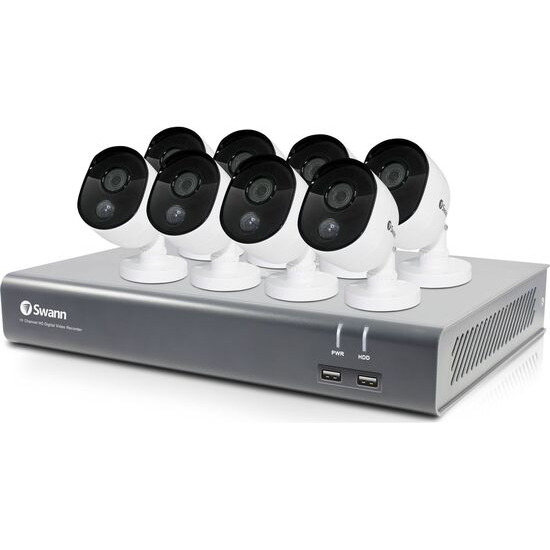SWANN SODVK-164588 16-Channel Full HD 1080p Security System - 8 Cameras