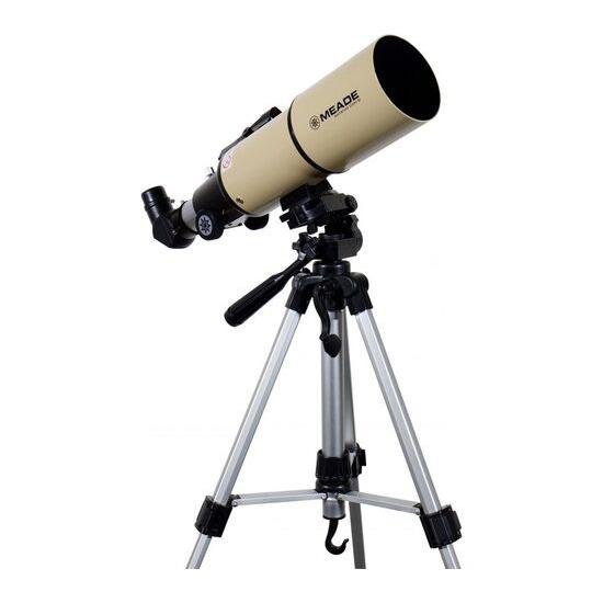 MEADE Adventure Scope 80 Refractor Telescope - Cream