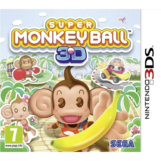 SEGA Super Monkey Ball 3D - for Nintendo DS