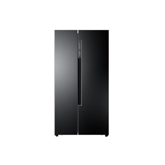 Haier HRF-522DBB6 Frost Free Side-by-side American Fridge Freezer - Black