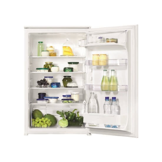 Zanussi ZBA15021SV InColumn Larder Fridge Sliding Rail 88cm Height