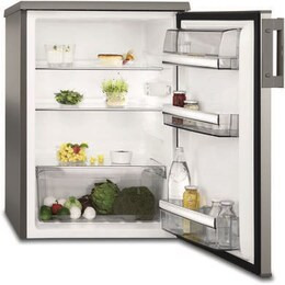 AEG RTB8152VAX Undercounter Larder Fridge Stainless Steel Look Door Reviews