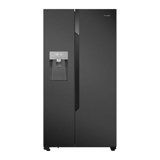 Hisense RS694N4TF1 American-Style Fridge Freezer - Black