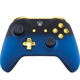 Microsoft Xbox One Wireless Controller - Blue Shadow & Gold