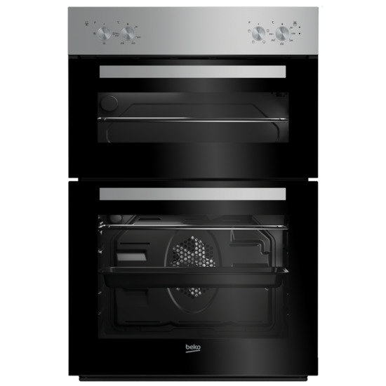 Beko BXDF21000S Electric Double Oven - Silver