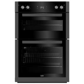 Beko Pro BXDF29300Z Electric Double Oven - Black Steel Reviews