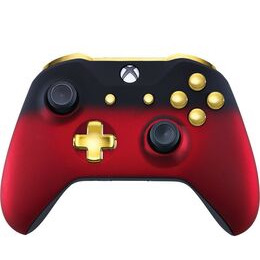 Microsoft Xbox One Wireless Controller - Red Shadow & Gold