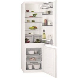 AEG SCB6181XLS 70-30 Integrated Low Frost Fridge Freezer - Sliding Rail Reviews