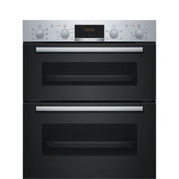 Bosch NBS113BR0B Electric Built-under Double Oven - Stainless Steel Reviews
