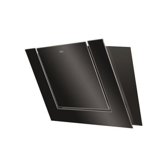 AEG DVB4850B Chimney Cooker Hood - Black