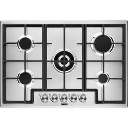 Zanussi ZGH76524XX Gas Hob - Stainless steel Reviews