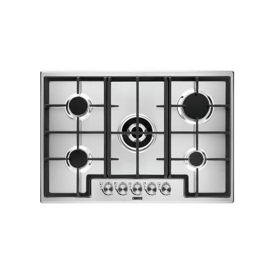 Zanussi ZGH76524XX Gas Hob - Stainless steel