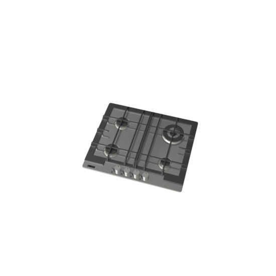 Zanussi ZGH66424XX Gas Hob - Stainless Steel