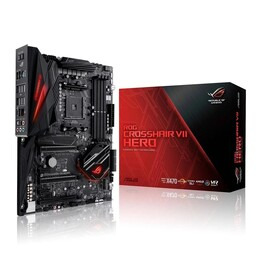 ASUS AMD AM4 X470 C-hair VII Hero D4 ATX Motherboard Reviews