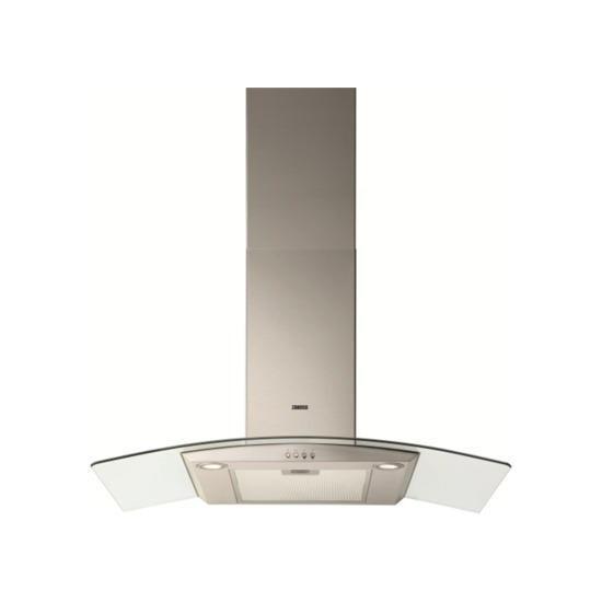 Zanussi ZHC9235X Chimney Cooker Hood - Stainless steel