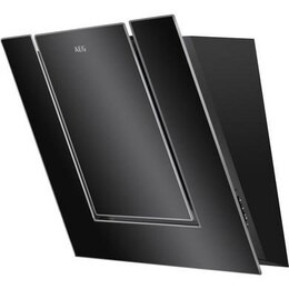 AEG DVB4550B Chimney Cooker Hood - Black