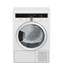 Grundig GTN28240GW 8 kg Heat Pump Tumble Dryer - White Reviews