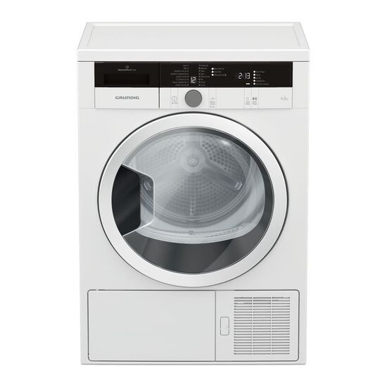 Grundig GTN28240GW 8 kg Heat Pump Tumble Dryer - White