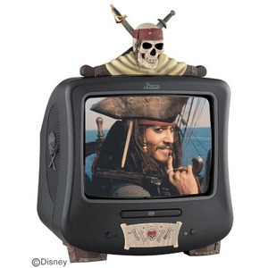 "Photo of Pirates 14"" TV/DVD Combi Television"