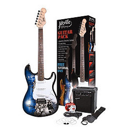 Jaxville Custom Series Electric Guitar Pack -'The Reaper' Reviews
