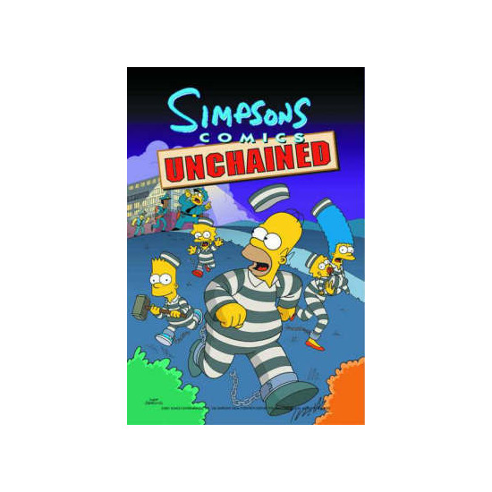 Simpsons Comics Unchained Matt Groening|etc.
