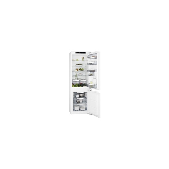 AEG SCE8182XNC Built integrated fridge freezer
