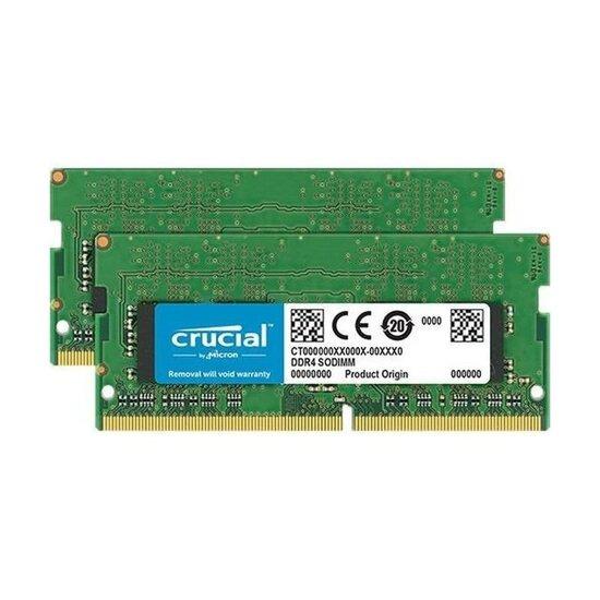 Crucial 16GB Kit (2 x 8GB) DDR4-2666 SODIMM