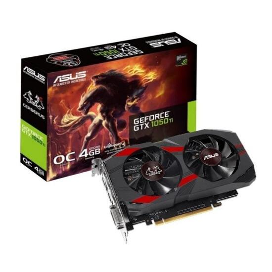 Asus Cerberus GeForce GTX 1050 Ti OC Graphics Card Headset Bundle