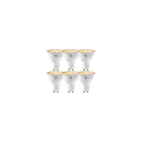 Hive GU10 Dimmable LED Smart Bulbs - 6 Pack - Warm White