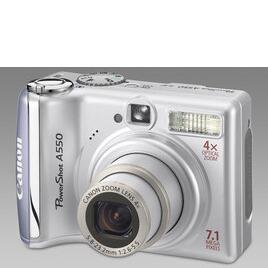 Canon Powershot A550 Reviews