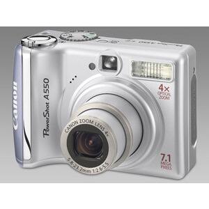 Photo of Canon Powershot A550 Digital Camera