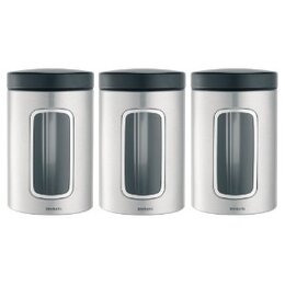Brabantia 1.4L  Window Canisters - 3 Pack Reviews